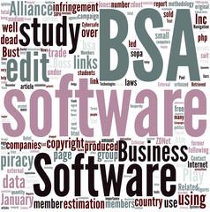 Business Software Alliance Concept