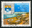 International philatelic exhibition in Genoa
