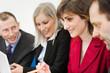 Equipe en réunion