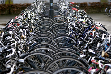Bicycle parking, Eindhoven, The Netherlands