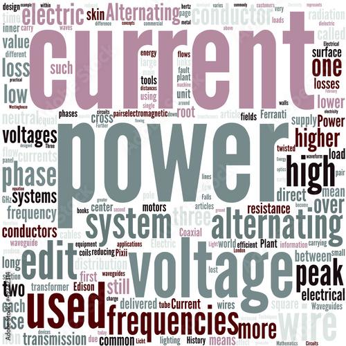 Alternating current Concept
