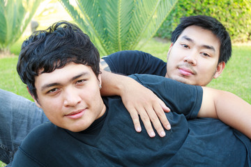 Gay Asian Couple
