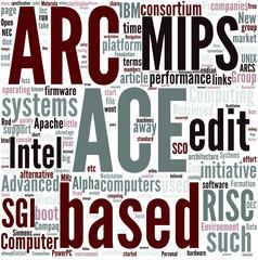 Advanced Computing Environment Concept