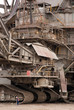 Close-up of one of the world's largest bucket-wheel excavators