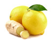 Lemon with ginger