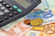 евро и калькулятор