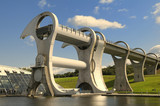 The Falkirk Wheel, Scotland.