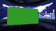 Business Room Loop, Green Screen and Alpha Channel - HD1080