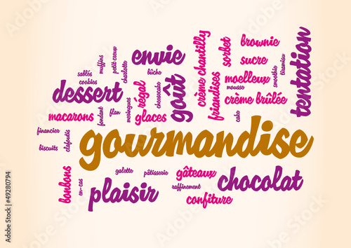 WEB ART DESIGN GOURMANDISE CHOCOLAT TENTATION PLAISIR 100