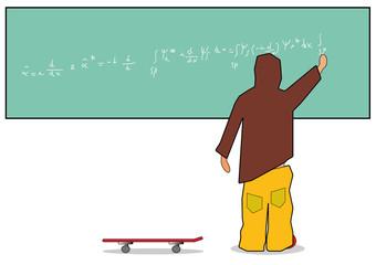 Rapper e skateboard