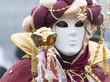 Maske mit Turban