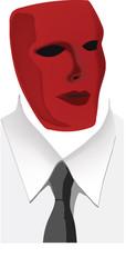 uomo in maschera