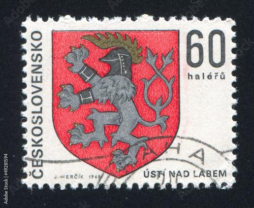 arms of Usti nad Labem