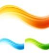 Vector shiny waves design