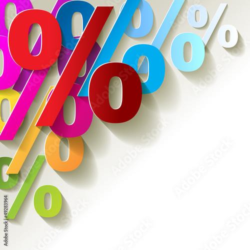procent-kolorowy-papier-narozny-z-powrotem