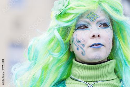 Karneval Fee Meerjungfrau