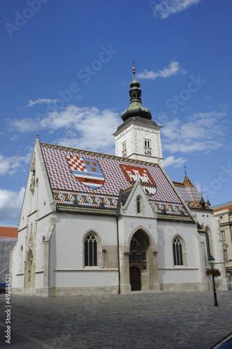 Church of san Marco, Zagreb