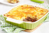 Cottage pie in baking dish