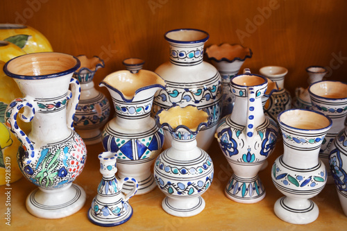 Pottery handicrafts
