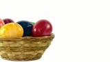 Korb mit Eier