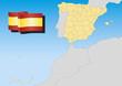 Spain Map Lambert