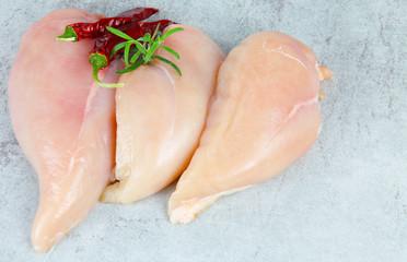 Hähnchenbrustfilet in der Fleischtheke