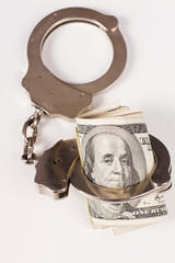 arrested money