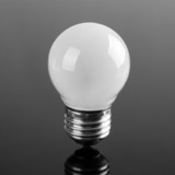 Small opaque bulb poster