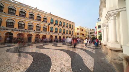 Largo do Senado in Macau Centre. China