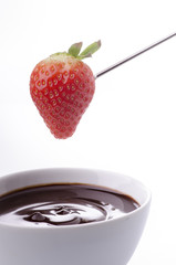 fonduta al cioccolato