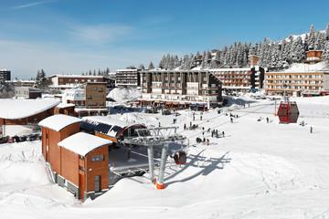 station de sport d'hiver