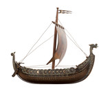 Viking Ship isolated