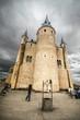 Rear tower of the Alcazar of Segovia, Castilla y Leon, Spain