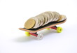 Skateboard und Taschengeld