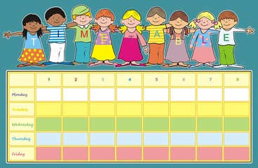 children-timetable