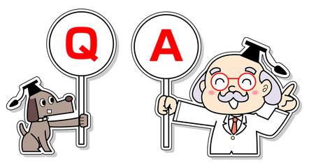 Q&A博士と助手