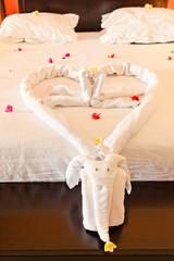 Photo chambre romantique pour nuit de noces for Chambre de nuit de noce