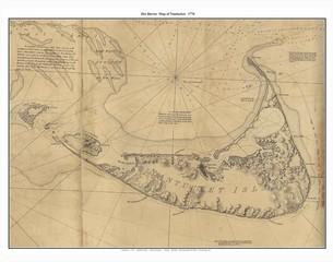 Nantucket old map