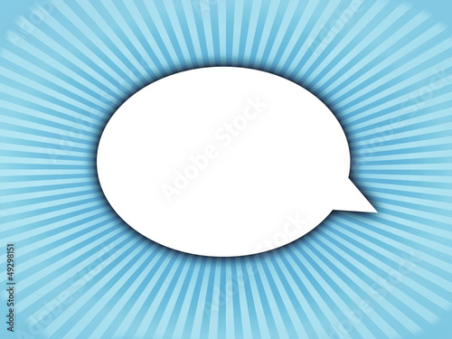 Speech bubble