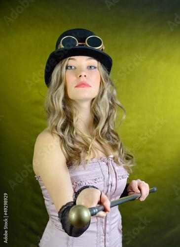 The haughty girl