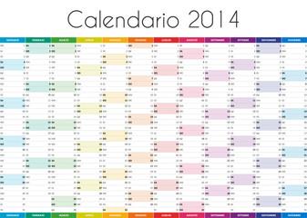 Calendario 2014 IT