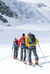 Skitour zur Gletscherbereich