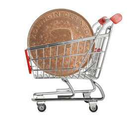 Ten euro cents coin