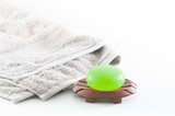 Spa Package including Aloe Vera Soap and Towel