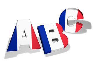 Abc French School Concept