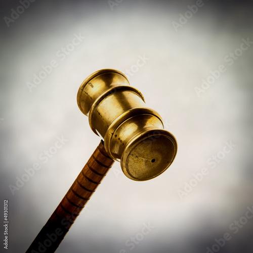 brass gavel