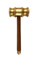 gavel white background