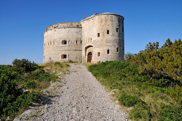 Fortress from 18th century