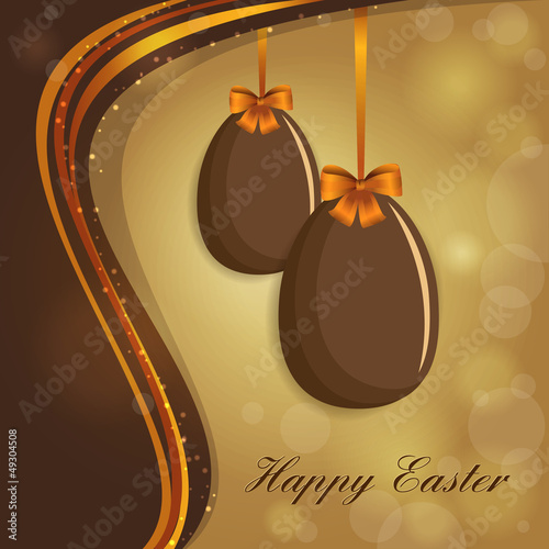 Easter Background - Eggs - Place your text - Pasqua