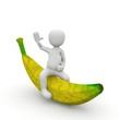 Banane groß